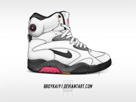 Nike Air Force 180 Pump Custom 2 by BBoyKai91