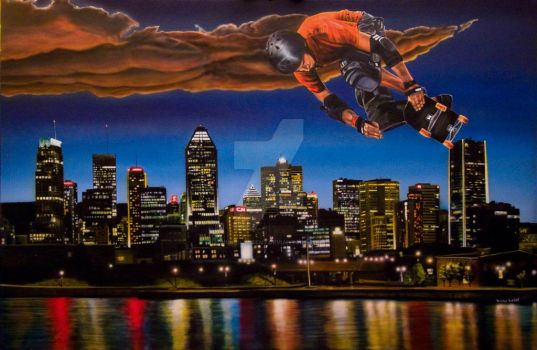 Skate Montreal by michelparent