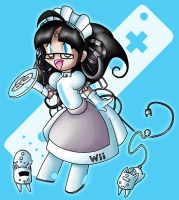 Wii-tan by ladyz0e