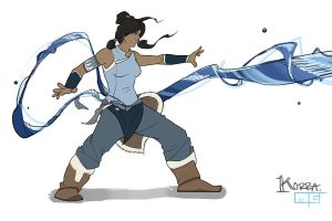 Legend of Korra by gibsonmo