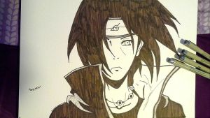 Itachi Uchiha by Snipes101