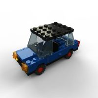 LEGO car... with LEGO logo by zpaolo