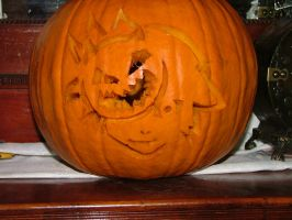 Halloweentown Sora Pumpkin by Arichan16