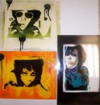 three of my stencils by afteryesterday45