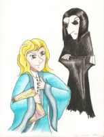 Lockheart and Snape by DeadWizard