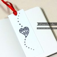 Doodle Bookmark by LinesInAir