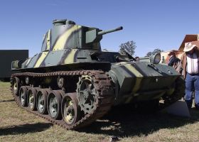 Japanese Tank on display by RedtailFox