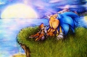 Sonamy Star Gazing - Colour pencil by MissTangshan95