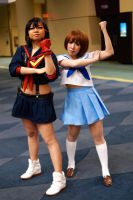 Mako and Ryuko Kill La Kill at MTAC! #6 by Lightning--Baron