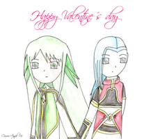 Happy Valentines day by Aselea
