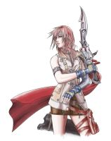 FFXIII lightning by infinite-sky