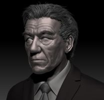 Sir Ian McKellen by Ixideon