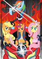 Tengen Toppa My Little Pony - MLP Style - by Wildy71090