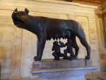 Statue of Romulus and Remus (Rome, Italy) by ChaseStarlit