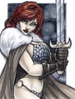 Red Sonja Mid Ohio 2012 by ComfortLove