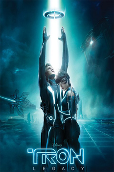 Tron Legacy Poster iPhone by gameover89