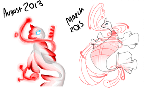 Compare 2013 to 2015 by DJ-Catsume