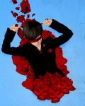 The Fall Of The Rose by blackstarsz