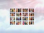 KOF XIV 2D - Characters Select Screen by BillyKharles