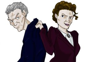 The Doctor and Missy by EverymanGirl