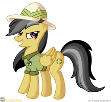 Daring Do by MeckelFoxStudio