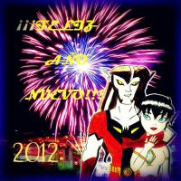 Happy New Year 2012 by ElfyNightmare