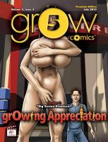 grOw-cOmic#5, issue 2 cover by BustArtist