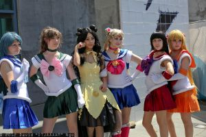 Sailor Scouts by Ko-na