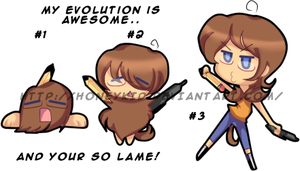 EVOLUTION.IS.AWESOME by ceilingFlowershot