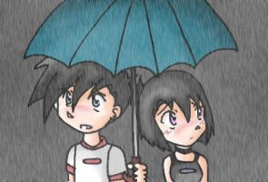 DP - Under the Rain by skyechan