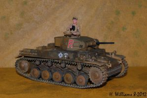 Panzer II G Right by 12jack12