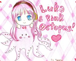 Luka and Pink Octopus by xiiTErRie