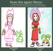 Memecember - Before and After Meme by NanaRamos