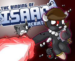 Binding of Isaac: Rebirth Video Title Card by AnimezingArtist
