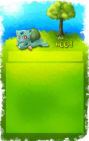 Bulbasaur FREE USE journal skin by Wolfvids