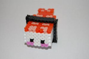 3D sushi beads by knil-maloon
