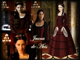 Joan of Portugal with red dress by Nurycat