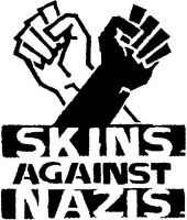 skinheads against nazis by WolfwithGlasses
