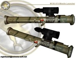 GDI M136 AT4 Rocket Launcher by bobjoe275