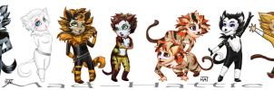 CATS by Mad-Hattie