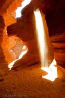 Lower Antelope Canyon by MartinWongArts