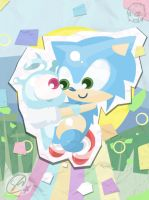 Sonic's Colourful Confetti by SteveKdA