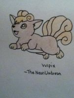 Vulpix by TheNeonUmbreon