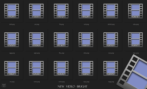 New Video bright - Icons by tchiro
