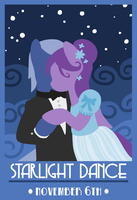 starlight dance poster Vector by sakatagintoki117