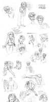 Crux Doodle Dump - March '10 by Bilious