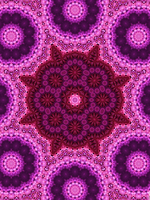 Violet's Flower Fractal Kaleidoscope by CarlosAE