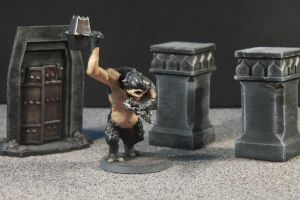 Warhammer Lord of the Rings Cave Troll by Matt1210