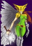 Hawkgirl Coloring by Rene-L