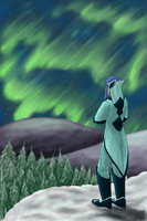 Lullaby at the wintery mountains by Bulbiekins